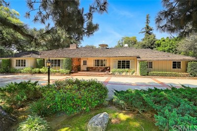 Arcadia Single Family Home For Sale: 1105 W Foothill Boulevard