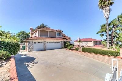 Diamond Bar CA Single Family Home For Sale: $970,000