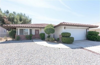 Victorville Single Family Home For Sale: 12598 Spring Valley Parkway