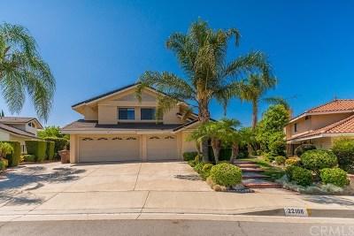Walnut Single Family Home For Sale: 22108 Settler Court