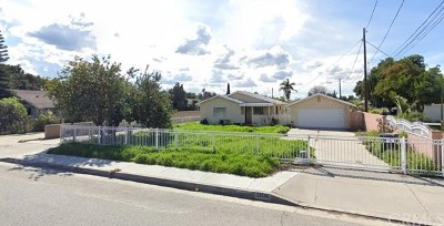 El Monte Single Family Home For Sale: 12516 Poinsettia Avenue