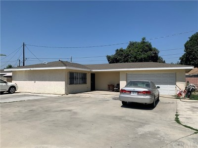 El Monte Single Family Home For Sale: 12518 Poinsettia Avenue