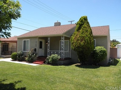 Burbank Single Family Home For Sale: 2109 N Valley Street