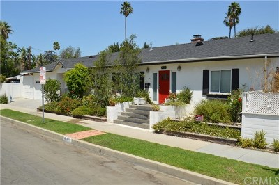 Burbank Single Family Home For Sale: 4231 W National Avenue