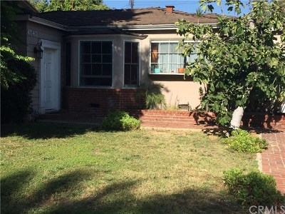 Toluca Lake Single Family Home For Sale: 4547 Talofa