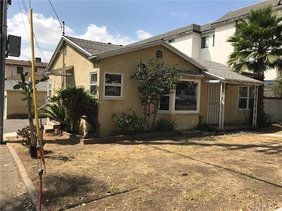 Burbank Multi Family Home For Sale: 531 6th