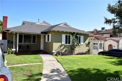Burbank Multi Family Home For Sale: 514 E Harvard Road