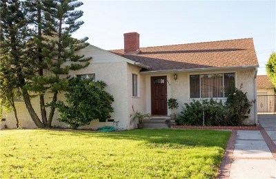 Burbank Single Family Home For Sale: 649 Tufts Avenue