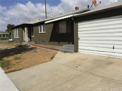 Burbank Single Family Home For Sale: 936 N Florence Street