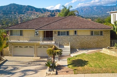 Glendale Single Family Home For Sale: 1259 Swarthmore Drive