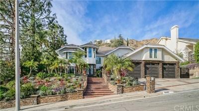 Burbank CA Single Family Home For Sale: $2,695,000