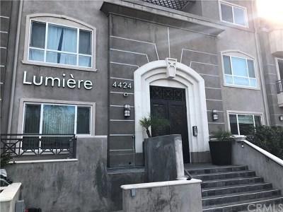 Studio City Condo/Townhouse For Sale: 4424 Whitsett Avenue #101
