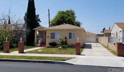 Burbank Single Family Home For Sale: 2208 Peyton Avenue