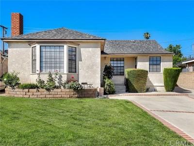 San Fernando Single Family Home For Sale: 2037 Phillippi Street