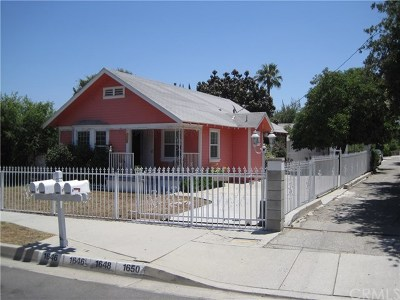 Hacienda Heights Multi Family Home For Sale: 1646 Kwis Avenue
