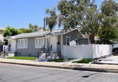 Burbank Multi Family Home For Sale: 408 S 7th Street