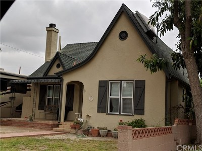 Burbank Single Family Home For Sale: 124 N Niagara Street