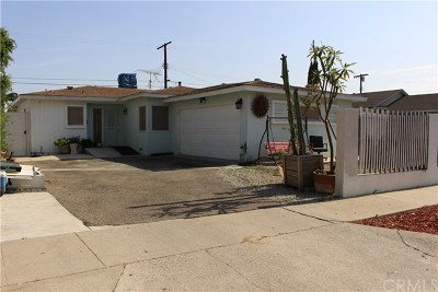 North Hollywood Single Family Home For Sale: 12006 Lorne Street