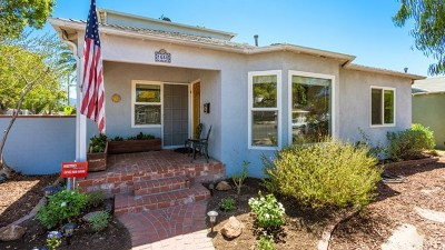 Burbank Single Family Home For Sale: 1648 N Avon Street