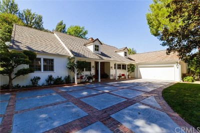 Sherman Oaks Single Family Home Active Under Contract: 3541 Valley Meadow Road