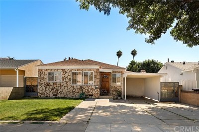 Burbank CA Single Family Home For Sale: $799,000