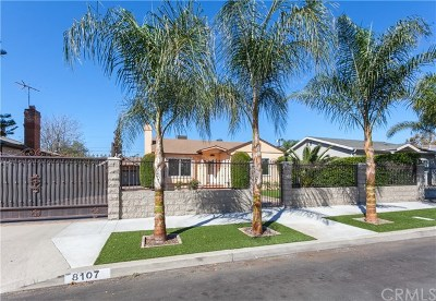 North Hollywood Single Family Home For Sale: 8107 Vantage Avenue