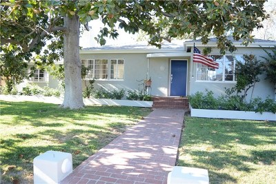 Burbank Single Family Home For Sale: 2409 W Clark Avenue