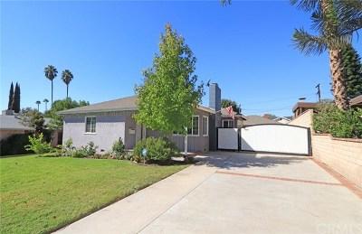 Burbank Single Family Home For Sale: 2505 Scott Road