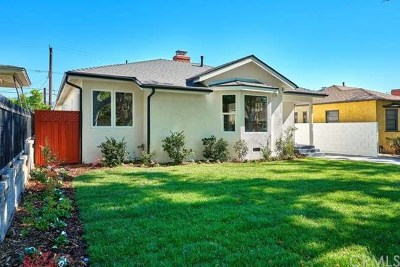 Burbank Single Family Home For Sale: 542 N Catalina Street