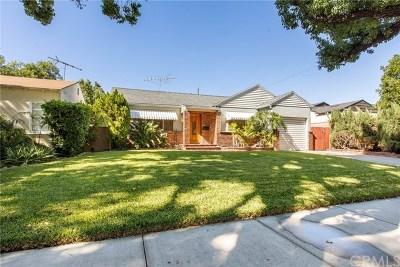 Burbank CA Single Family Home For Sale: $745,000