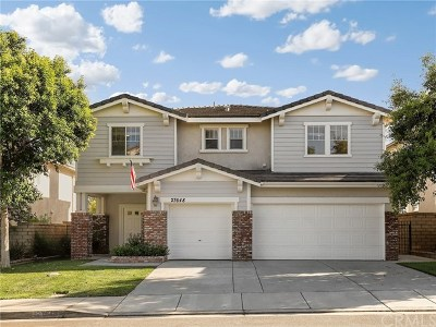 Castaic Single Family Home For Sale: 27648 Muir Grove Way