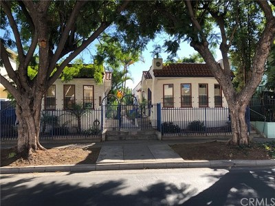 Los Angeles Multi Family Home For Sale: 5846 Willoughby Avenue