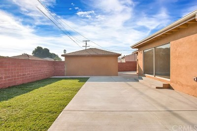 North Hollywood Single Family Home For Sale: 7856 Vanscoy Avenue