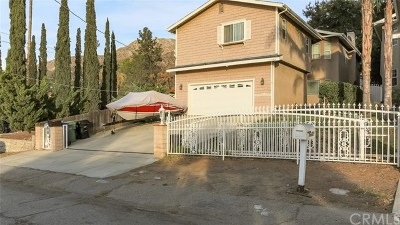 Tujunga Single Family Home For Sale: 10632 Las Lunitas Avenue