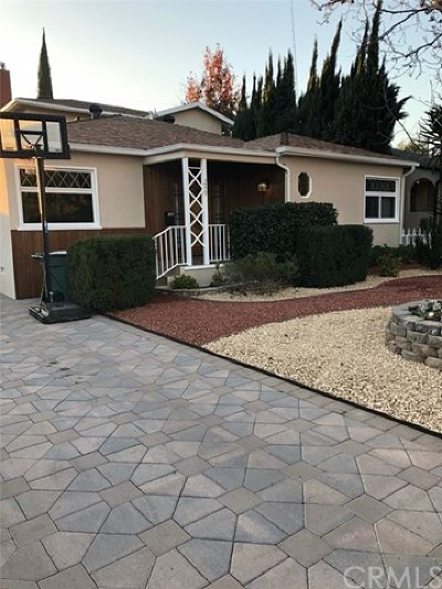Burbank Single Family Home For Sale: 249 N Avon Street