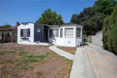 Burbank Single Family Home For Sale: 301 N Orchard Drive
