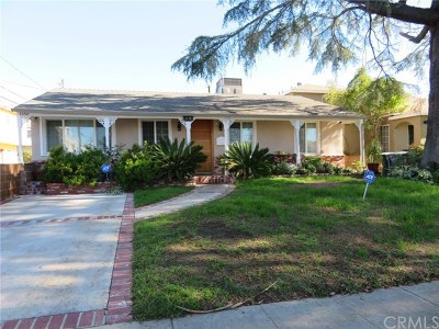 Burbank Single Family Home For Sale: 1130 N Beachwood Drive