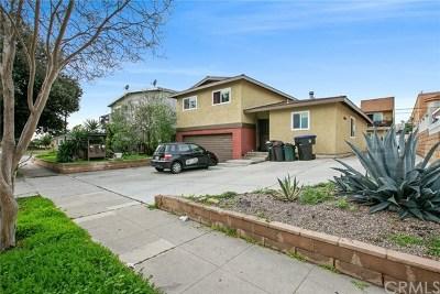 Burbank Multi Family Home For Sale: 2207 N Frederic Street