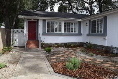 Pasadena CA Single Family Home For Sale: $739,000