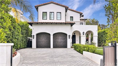 West Hollywood Single Family Home For Sale: 820 N Vista Street