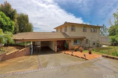 La Canada Flintridge Single Family Home For Sale: 2100 Via Venado Street