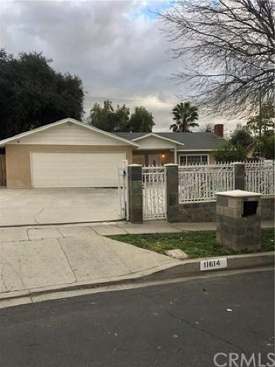 Sylmar Single Family Home For Sale: 11614 Glamis Street
