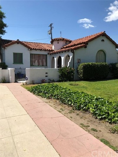 Burbank Single Family Home For Sale: 2301 Scott Road