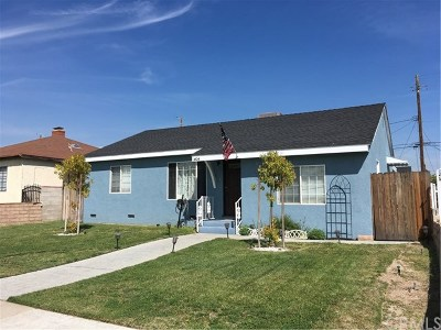 Single Family Home For Sale: 1404 N Buena Vista Street