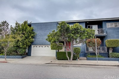 Santa Monica Condo/Townhouse For Sale: 1659 Franklin Street #3