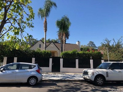 Sherman Oaks Single Family Home For Sale: 4611 Saloma Avenue