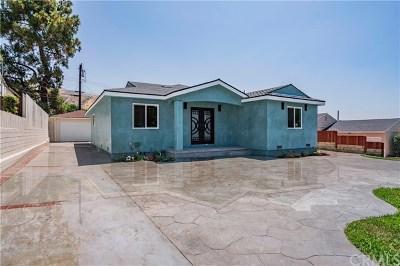 Burbank Single Family Home For Sale: 2800 Scott Road