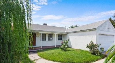 North Hollywood Single Family Home For Sale: 6257 Bellaire Avenue