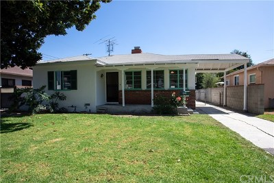 Single Family Home For Sale: 430 N Mariposa Street