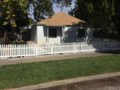 Chico Single Family Home Active Under Contract: 582 E 12th Street